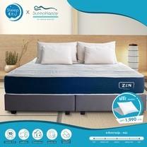 SleepHappy รุ่นZEN (แน่นปานกลาง) ที่นอนพ็อกเก็ตสปริงในกล่อง ที่นอนเพื่อสุขภาพ หนา10นิ้ว 6ฟุต ส่งฟรีทั่วไทย