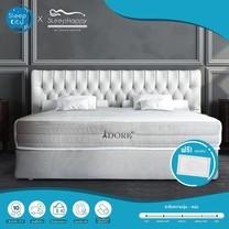 SleepHappy รุ่น Adore (แน่นปานกลาง) ที่นอนพ็อกเก็ตสปริงในกล่อง ที่นอนเพื่อสุขภาพ หนา10นิ้ว 6ฟุต ส่งฟรีทั่วไทย