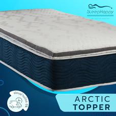SleepHappy Topper Artic ท็อปเปอร์ แผ่นรองที่นอนอาร์คติก (3 นิ้ว) 3.5 ฟุต ส่งฟรีทั่วไทย