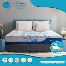 SleepHappy รุ่น Bliss (2ด้าน 2อารมณ์) ที่นอนพ็อกเก็ตสปริงในกล่อง ที่นอนเพื่อสุขภาพ หนา11นิ้ว 6ฟุต ส่งฟรีทั่วไทย