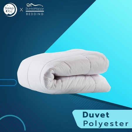 SleepHappy ผ้านวมโพลีเอสเตอร์ Duvet polyester ( 200 gsm.) 5ฟุต