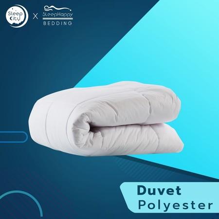 SleepHappy ผ้านวมโพลีเอสเตอร์ Duvet polyester ( 200 gsm.) 3.5ฟุต