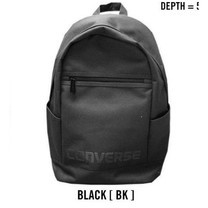 Converse BTS Fifth Backpack สีดำ กระเป๋าเป้ สะพายหลัง คอนเวิร์ส แท้
