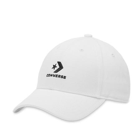 Converse Lock Up Baseball Cap สีขาว หมวก คอนเวิร์ส แท้