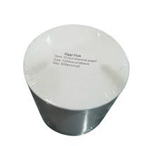 """กระดาษสติกเกอร์สำหรับเครื่องพิมพ์แบบ Direct Thermal ขนาด 4""""x4"""" (100x100 mm) จำนวน 500 ดวง/ม้วน มีรอยปรุสำหรับฉีก ยี่ห้อ Oggi Club"""