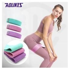 Aolikes ยางยืดวงแหวนเซ็ต 3ชิ้น ยางยืดออกกำลังกาย กระชับกันและขา ผ้าหนา แถมถุง 3604