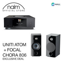Naim Uniti Atom + Focal Chora 806 สี Black - ข้อเสนอสุดพิเศษ