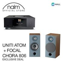 Naim Uniti Atom + Focal Chora 806 สี Dark Wood - ข้อเสนอสุดพิเศษ