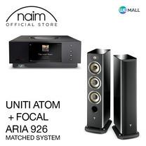 Naim Uniti Atom + Focal Aria 926 สี Black High Gloss - ข้อเสนอสุดพิเศษ