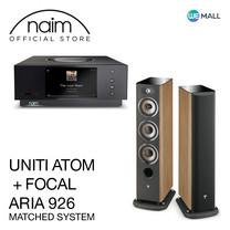 Naim Uniti Atom + Focal Aria 926 สี Prime Walnut - ข้อเสนอสุดพิเศษ