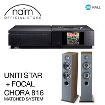 Naim Uniti Star + Chora 816 สี Dark Wood - ข้อเสนอสุดพิเศษ