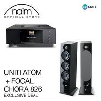 Naim Uniti Atom + Focal Chora 826 สี Black - ข้อเสนอสุดพิเศษ
