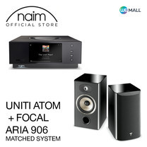 Naim Uniti Atom + Focal Aria 906 สี Black High Gloss - ข้อเสนอสุดพิเศษ