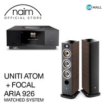 Naim Uniti Atom + Focal Aria 926 สี Noyer - ข้อเสนอสุดพิเศษ