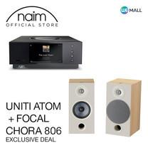 Naim Uniti Atom + Focal Chora 806 สี Light Wood - ข้อเสนอสุดพิเศษ
