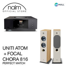 Naim Uniti Atom + Chora 816 สี Light Wood - ข้อเสนอสุดพิเศษ