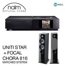 Naim Uniti Star + Chora 816 สี Black High Gloss - ข้อเสนอสุดพิเศษ