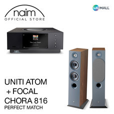 Naim Uniti Atom + Chora 816 สี Dark Wood - ข้อเสนอสุดพิเศษ