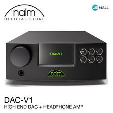 Naim DAC-V1 - เครื่องเล่นคุณภาพสูง DAC พร้อมแอมพลิฟายเออร์หูฟัง (Single Ended Class-A, DSD 64/128)