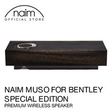 Naim Muso for Bentley Special Edition - ลำโพงไร้สายระดับพรีเมียม ( Airplay2, Chromecast, Spotify, Tidal, Quboz, Roon Ready, APTX , USB, App Control )