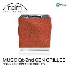 Naim Muso Qb 2nd Generation Grille Terracotta -ฝาหน้าลำโพงสีสวยหรูสำหรับ Mu-So Qb รุ่นที่ 2 สี Terracotta