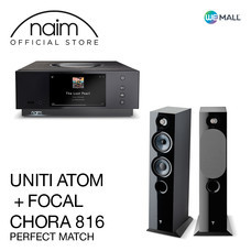 Naim Uniti Atom + Chora 816 สี Black - ข้อเสนอสุดพิเศษ