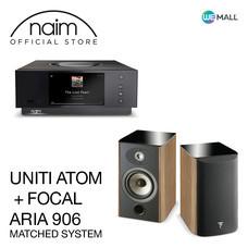 Naim Uniti Atom + Focal Aria 906 สี Prime Walnut - ข้อเสนอสุดพิเศษ