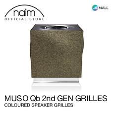 Naim Muso Qb 2nd Generation Grille Olive - ฝาหน้าลำโพงสีสวยหรูสำหรับ Mu-So Qb รุ่นที่ 2 สี Olive