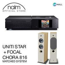 Naim Uniti Star + Chora 816 สี Light Wood - ข้อเสนอสุดพิเศษ
