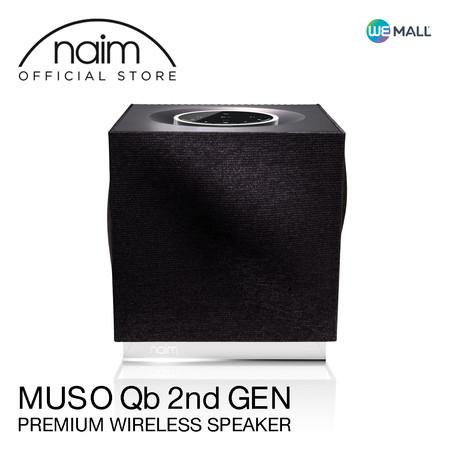 Naim Muso Qb 2nd Generation - ลำโพงไร้สายขนาดกะทัดรัด ระดับพรีเมียมจากแบรนด์ ( Airplay2, Chromecast, Spotify, Tidal, Quboz, Roon, APTX , USB, App ) สีดำ