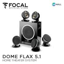 Focal Dome Flax 5.1 Sub Air Black – ระบบชุดดูหนัง / AV พร้อมซับวูฟเฟอร์ไร้สาย ( ผลิตในประเทศฝรั่งเศส ) สีดำ