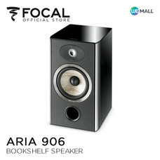 Focal Aria 906 Black High Gloss - ลำโพง Bookshelf  ( ผลิตในประเทศฝรั่งเศส ) สีดำ