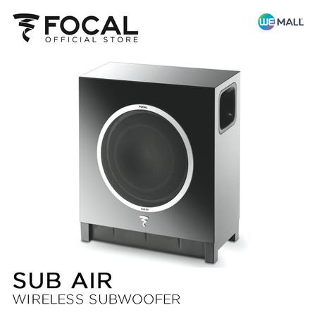 Focal Sub Air Black - ซับวูฟเฟอร์ไร้สาย สีดำ