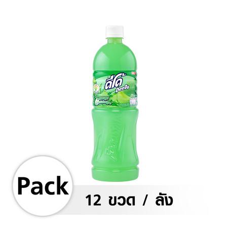 ดีโด้ น้ำรสแคนตาลูป 1000 ml. (12 ขวด/ลัง)