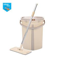 โพลี-ไบรท์ ม็อบถังรีดน้ำ รุ่น สตอร์ม แถมฟรี ผ้ารีฟิล Soft 3 ชิ้น +ฟองน้ำนาโน+Softy L