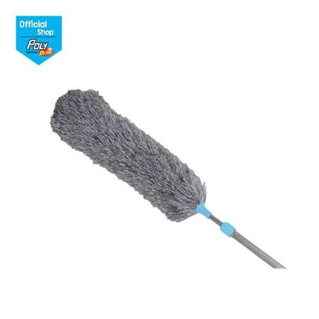 โพลี-ไบรท์ ไม้ปัดฝุ่นไมโครไฟเบอร์ (ด้ามปรับยืดหด)