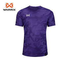 WARRIX เสื้อคอกลมแขนสั้น WA-18FT12M1 - สีม่วง
