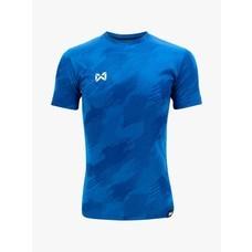 WARRIX เสื้อกีฬา เสื้อฟุตบอลทอลาย Camo WA-1567