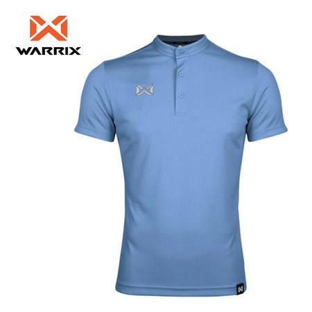 WARRIX เสื้อโปโลเบสิค แขนสั้นคอจีน WA-3329