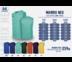 WARRIX เสื้อวิ่งคอวี ลาย Pulse Unity WA-1615