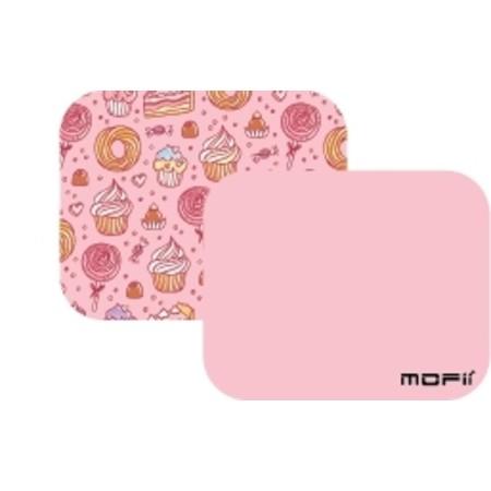 ( แผ่นรองเม้าส์ใช้ได้2ด้านสีพาสเทล ) MOFii PANCAKE 2-sided Small Mousepad