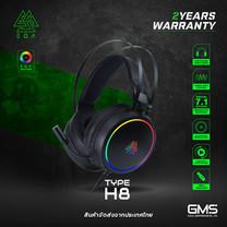 หูฟังเกมมิ่ง EGA TYPE H8 7.1 Surround โปรแกรมได้ ของแท้ประกันศูนย์ 2 ปี