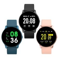 Smart Watch KW19 นาฬิกาอัจฉริยะ รองรับภาษาไทย วัดชีพจร นับก้าว เตือนสายเรียกเข้า