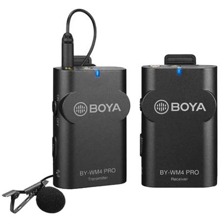 BOYA BY WM4 Pro ไมค์ไร้สาย ไลฟ์สด Wireless Microphone สมาร์ทโฟน กล้อง ไมค์ไลฟ์สด