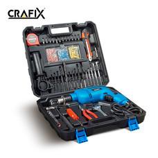 CRAFIX สว่านไฟฟ้าและกระเป๋าเครื่องมือช่าง