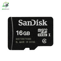 SANDISK MicroSDHC Card สำรองข้อมูลความจุ 16 GB