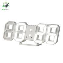 นาฬิกาตั้งโต๊ะรูปตัวเลขดิจิตอลพร้อมไฟ LED