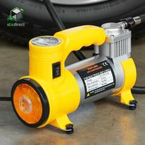 เครื่องสูบลมไฟฟ้าสำหรับใช้ในรถยนต์