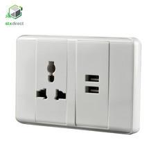 ปลั๊กไฟอเนกประสงค์พร้อมพอร์ท USB