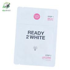 CATHY DOLL READY 2 WHITE Lightening Milky Mask Sheet มาส์กบำรุงผิวหน้า 25 กรัม x 3.5 มิลลิลิตร